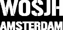 Wosjh Amsterdam Logo white